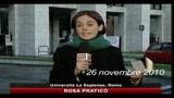 26/11/2010 - Scuola, studenti occupano monumenti