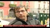 28/11/2010 - Emergenza rifiuti a Napoli, cortei di protesta in città