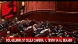 Ddl Gelmini, si della Camera, il testo va al Senato