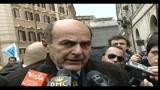 Bersani: instabilità pericolosa per l'attuale situazione politica