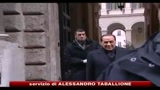 Berlusconi: no ad agguati di palazzo, fiducia forte o voto