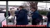 FIAT Mirafiori, tute blu e sindacati a confronto