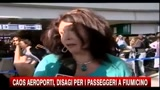 04/12/2010 - Caos Aeroporti, disagi per i passeggeri a Fiumicino