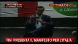 Fini presenta il Manifesto per l'Italia