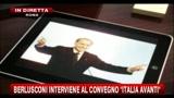 Berlusconi interviene al convegno italia avanti