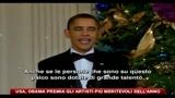 USA, Obama premia gli artisti più meritevoli dell'anno