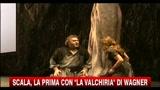 Scala, la Prima con La Valchiria di Wagner