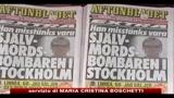 Stoccolma, il kamikaze era un 29enne iracheno