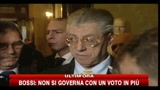 Bossi: se non si pu governare, l'alternativa  il voto