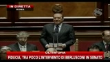 Il discorso di Silvio Berlusconi al Senato