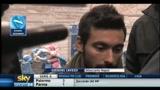 13/12/2010 - Napoli, intervista a Lavezzi