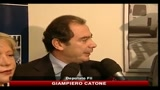 Catone, lascio FLI per le dichiarazioni di Fini