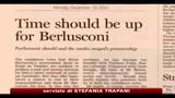 Governo, FT: è tempo che Berlusconi lasci Palazzo Chigi