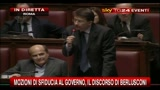 13/12/2010 - Franceschini: intervento Berlusconi alla Camera identico a quello Senato