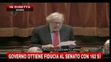 La dichiarazione di voto di Paolo Guzzanti