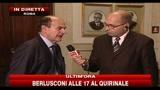 Bersani: Serve governo istituzionale