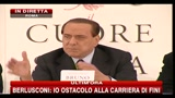 Berlusconi: i soldi per ricostruzione L'Aquila ci sono sempre stati