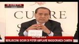 Berlusconi: maggioranza risicata? Si può governare tranquillamente