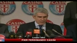 14/12/2010 - Fiducia, Casini: in caso di voto Udc correr sola