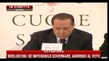 Legge elettorale, Berlusconi: si a revisione ma non a premio di maggioranza