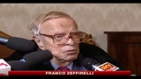 Zeffirelli: la cultura oggi è sconcertante, brutta e stupida