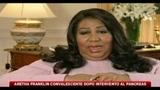 Aretha Franklin serena dopp l'operazione