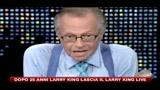 Dopo 25 anni Larry King lascia il Larry King Live