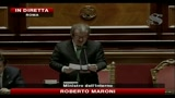 Scontri Roma, Maroni riferisce in Senato