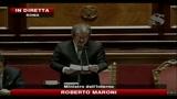 Scontri Roma, Maroni riferisce in Senato