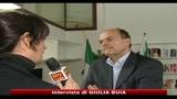 Bersani: aperto a nuove coalizioni, ma no primarie