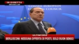 Berlusconi: c' una comune preoccupazione per il futuro dell'Europa