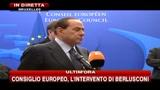 Berlusconi al Parlamento Europeo