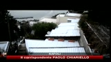 Freddo polare a Napoli, neve anche a Capri
