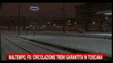 Neve in Toscana, in collegamento il presidente della regione Enrico Rossi