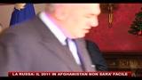 La Russa: il 2011 in Afghanistan non sarà facile