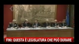 21/12/2010 - Fini: questa  una legislatura che pu durare