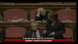 21/12/2010 - Voto rimandato al Senato, le parole di Anna Finocchiaro e Mariastella Gelmini