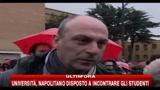 22/12/2010 - Roma, manifestazione contro ddl Gelmini: parlano padre e figlia
