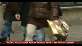 22/12/2010 - Roma, negozi aperti ma pochi clienti