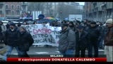 22/12/2010 - Milano, studenti cercano di occupare rettorato statale