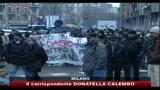 22/12/2010 - Milano, studenti cercano di occupare rettorato statale