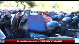 22/12/2010 - Universit, scontri tra manifestanti e Polizia a Palermo