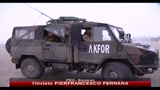 Fini in visita ai militari italiani in Kosovo