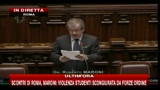 3 - Scontri Roma, Maroni: dimostranti hanno attaccato forze ordine