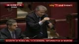Scontri Roma, Cicchitto: manifestanti volevano feriti e morti