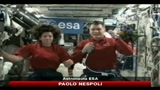 Paolo Nespoli parla ai giovani dallo spazio