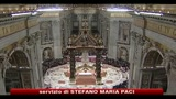 Alle 22 il papa celebra la messa della notte di Natale in San Pietro