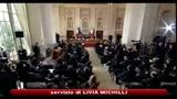 Berlusconi: 2011 anno della ripresa, ma ancora sacrifici