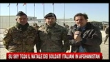 Su SkyTG24 il Natale dei soldati italiani in Afghanistan