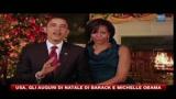 25/12/2010 - USA, gli auguri di Natale di Barack e Michelle Obama